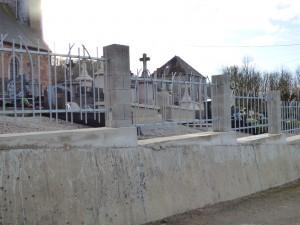 photo grille cimetière après rénovation