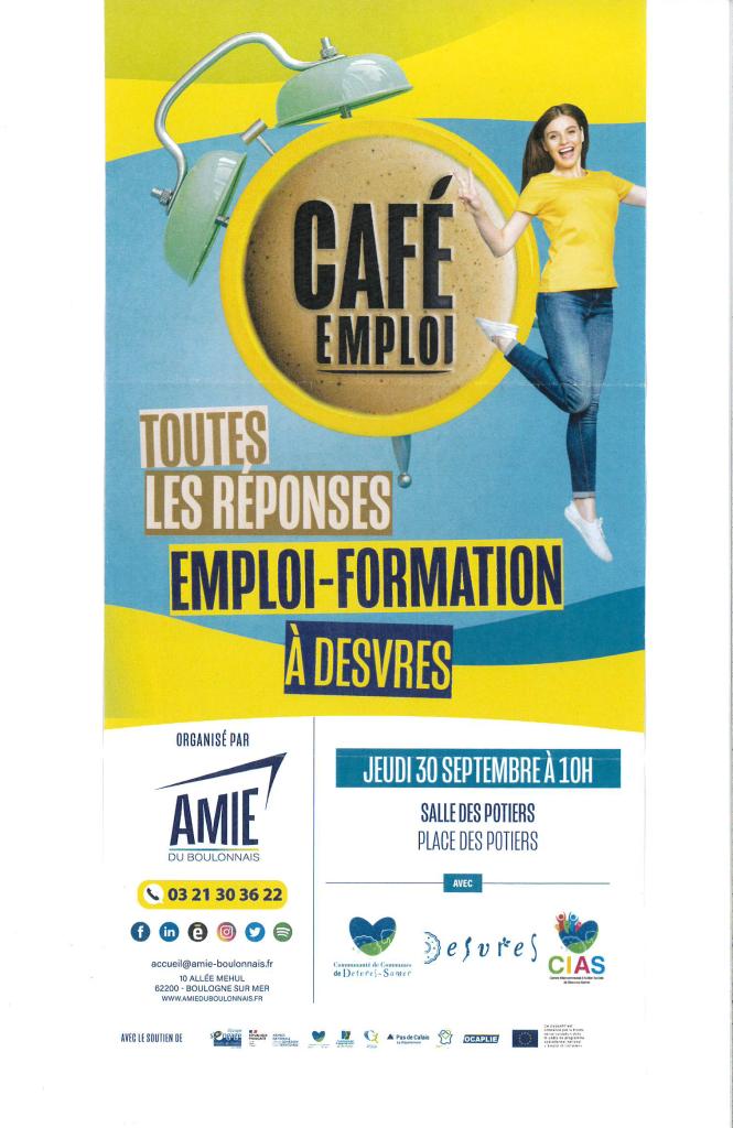 café emploi Amie du Boulonnais